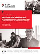 Effective Shift Team Leader