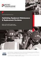 Optimising Equipment Maintenance& Replacement Decisions