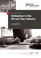 Unitisation in the Oil and Gas Industry