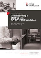 Commissioning & Start-Up with API RP 1FSC Foundation