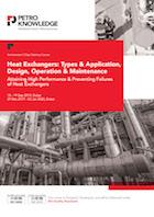 Heat Exchangers: Types, Application, Design, Operation & Maintenance
