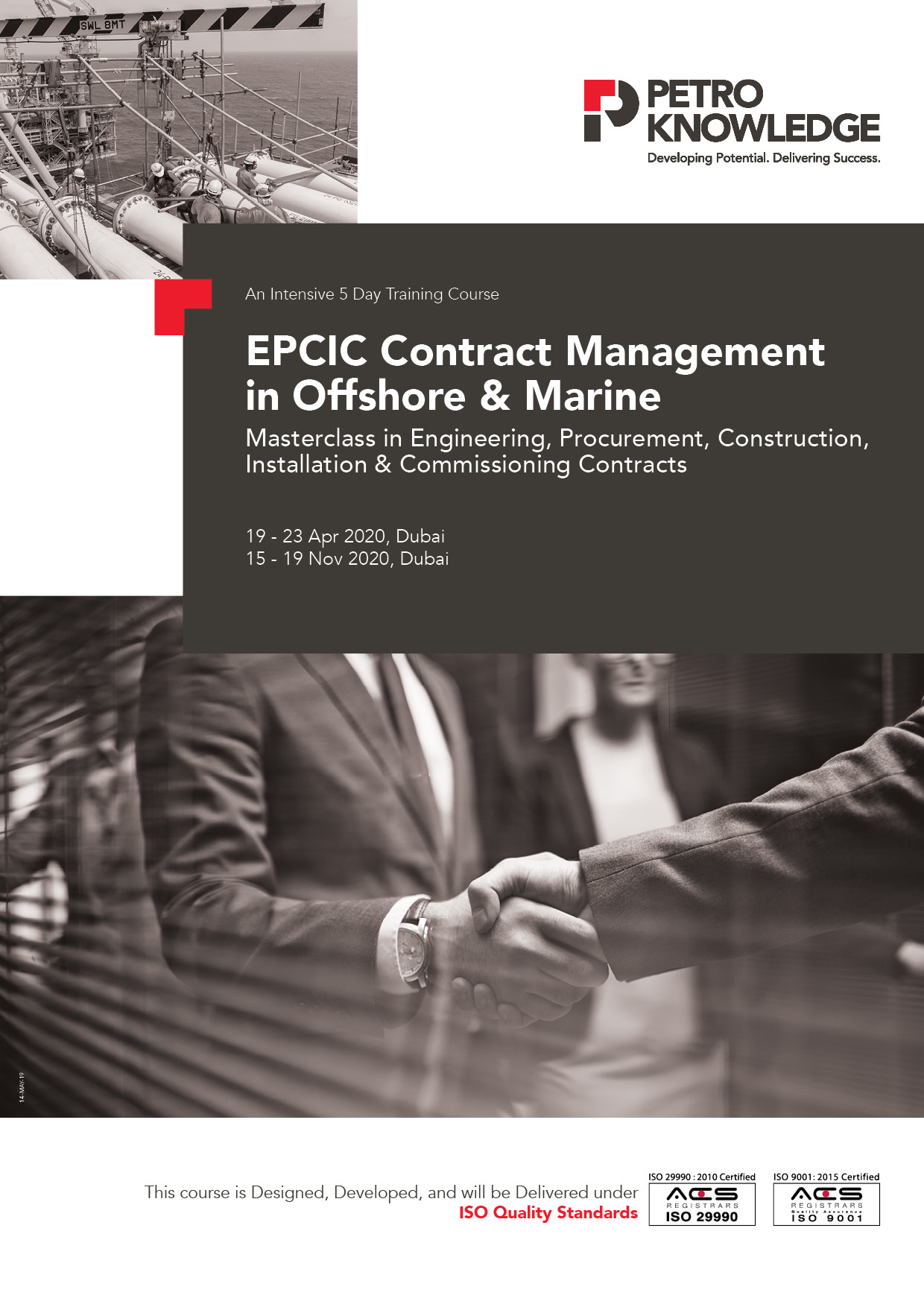 EPCIC Contract Management in Offshore & Marine Training ...