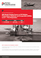 IMO Model Training Course on Oil Pollution Preparedness, Response and Co-operation (OPRC) Level 1 - First Responders