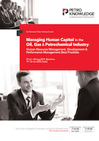 Managing Human Capital in the Oil, Gas & Petrochemical Industry