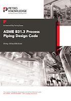 ASME B31.3 Process Piping Design Code