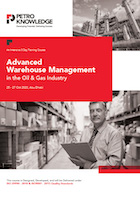 Advanced Warehouse Management in the Oil & Gas Industry