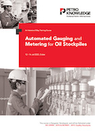 Automated Gauging and Metering for Oil Stockpiles
