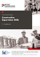 Construction Supervision Skills