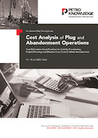 Cost Analysis of Plug and Abandonment Operations