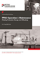 FPSO Operation & Maintenance (Floating Production Storage and Offloading)