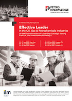 Effective Leader in the Oil, Gas & Petrochemicals Industries
