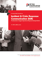 Incident & Crisis Response Communication Skills