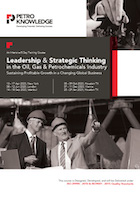 Leadership & Strategic Thinking in the Oil, Gas & Petrochemicals Industry