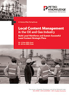 Local Content Management in the Oil and Gas Industry