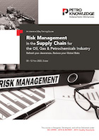 Risk Management in the Supply Chain for the Oil, Gas & Petrochemicals Industry