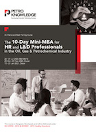 The 10-Day Mini-MBA for HR and L&D Professionals in the Oil, Gas & Petrochemical Industry