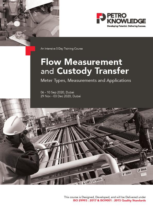 Flow Measurement and Custody Transfer