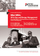 Mini MBA : Oil & Gas and Energy Management