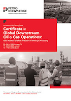Certificate in Global Downstream Oil & Gas Operations