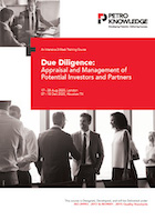 Due Diligence: Appraisal and Management of Potential Investors and Partners