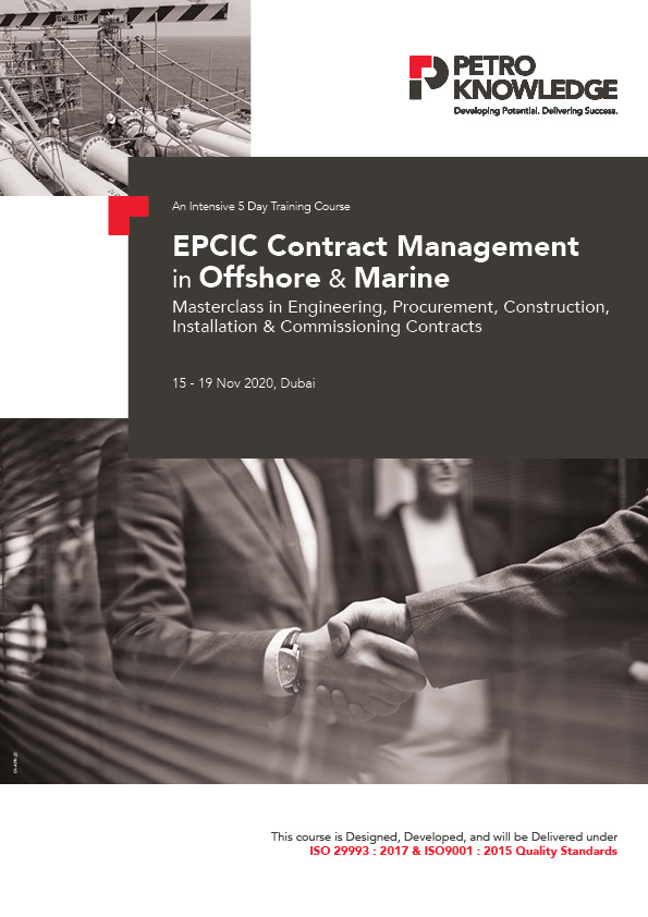 EPCIC Contract Management in Offshore & Marine