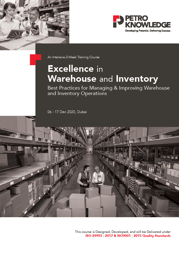 Excellence in Warehouse and Inventory