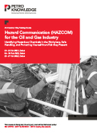 Hazard Communication (HAZCOM) for the Oil and Gas Industry